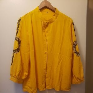 Gorgeous yellow blouse